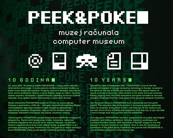PEEK&POKE