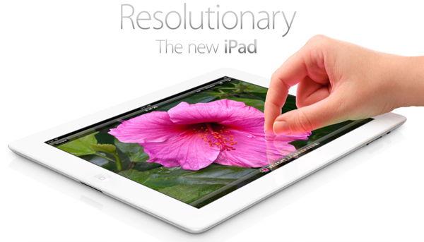 Rezolucijski Novi iPad