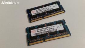 2 x 2 GB DDR3 RAM (SO-DIMM) 1066 Mhz
