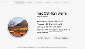 Prodajem Macbook Pro 13.3 Mid 2012