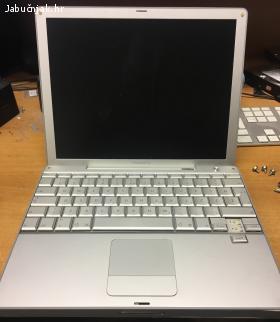 PowerBook G4 1GHz, 256 MB, bez punjaca i diska, za dijelove
