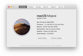 Mac Pro tower 12-core