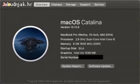 Macbook Pro Retina Mid2014