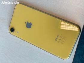 iPhone XR, 128 GB, 2018.g, žuta boja, OČUVAN kao nov