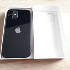 iPhone 12 128GB crni, savršeno stanje, račun, garancija