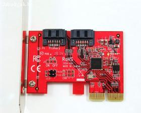 Ableconn 2-Port SATA III 6G PCIe kartica