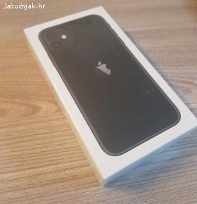 Prodajem iPhone 11, 64GB, crni, sim free, zapakirani
