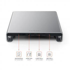 Satechi Monitor Stand Hub za iMac